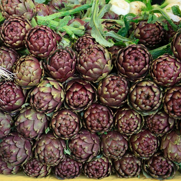 #whatscooking live online classes artichokes
