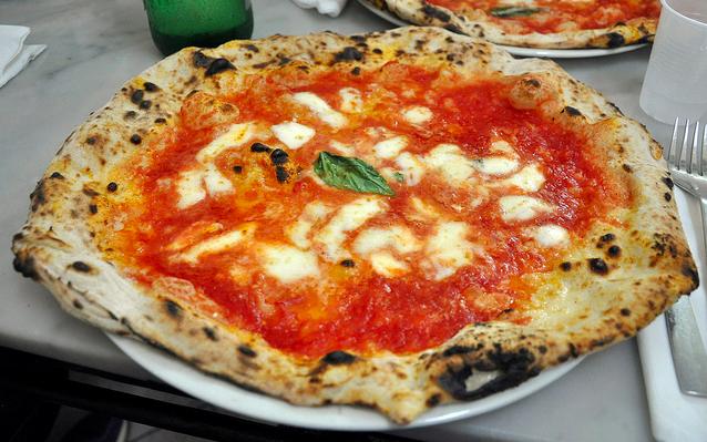 Pizza in Naples at Da Michele