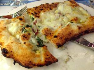 Pizza in Naples at La Notizia