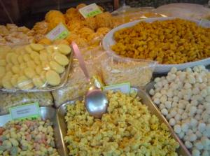 fresh pasta and gnocchi sold at Gargani in Rome