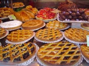 cakes sold at Gargani in Rome