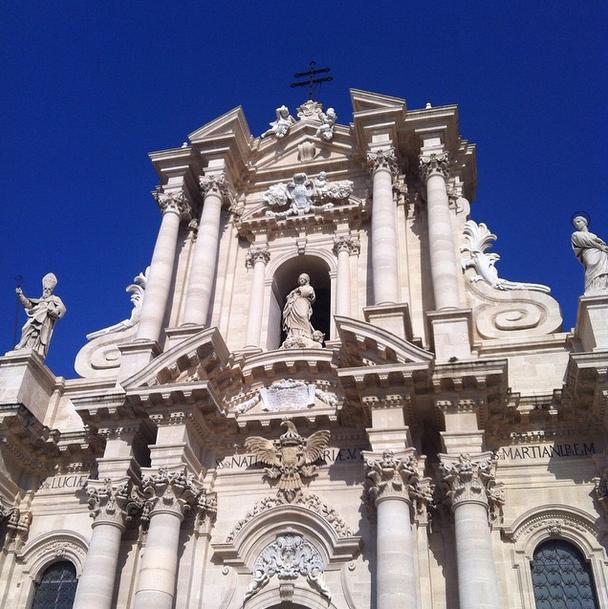 Duomo in Ortigia, visit on Sundays