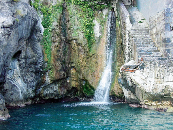 waterfall near Amalfi