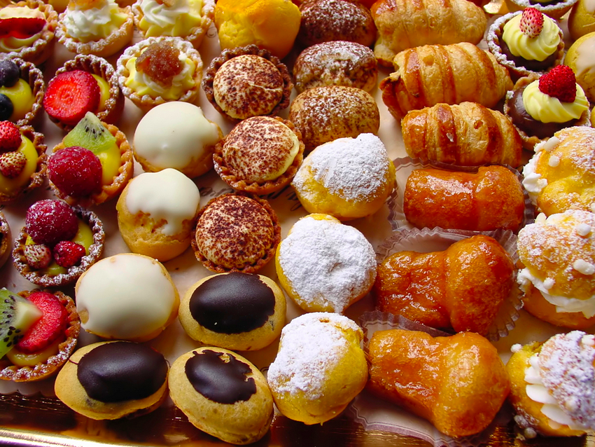 Pastry Shops in Rome
