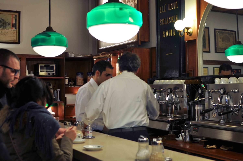 Sciascia coffee bar in Rome