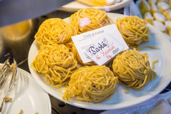 homemade pasta at La Tradizione gourmet deli in Rome