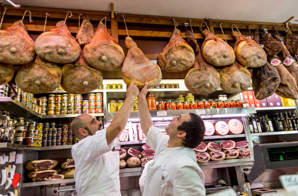 La Tradizione, Rome's finest gourmet shop