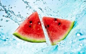 Italians celebrate ferragosto with watermelon