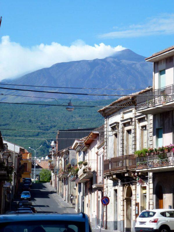 Mt Etna from Linguaglossa