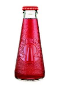 Camparisoda bottle designed by Futurist artists Depero in 1932