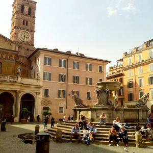 Trastevere neighborhood in Rome