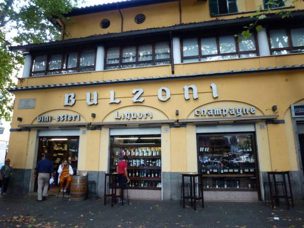 Enoteca Bulzoni wine bar in Rome