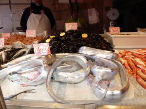Scabbardfish in Ortigia fish market