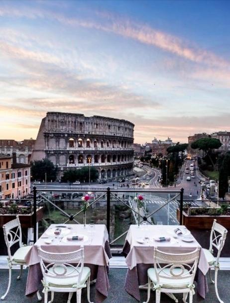Aroma At Palazzo Manfredi Restaurant In Rome