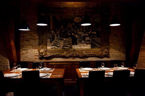 Assunta Madre romantic restaurant in Rome
