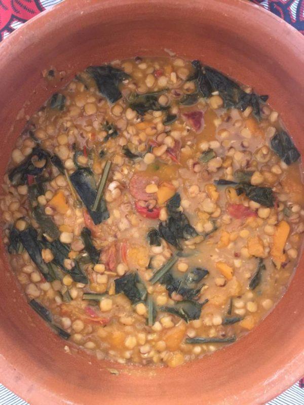 cicerchie & squash soup