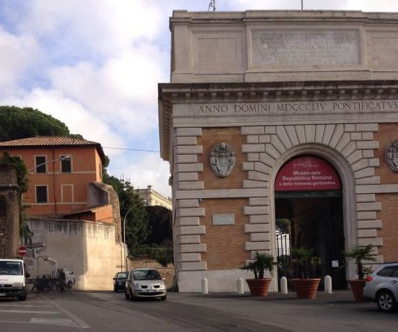 St Peters to Janiculum walking route