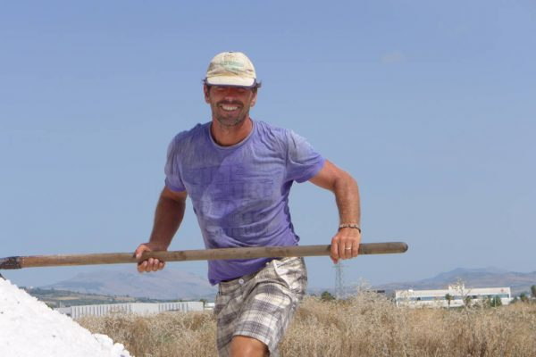 Western Sicily salt pans
