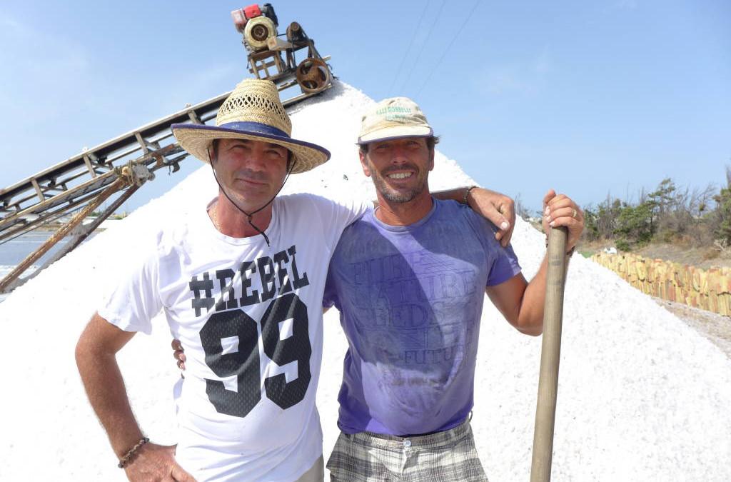 Adventures on Sicily's salt pans