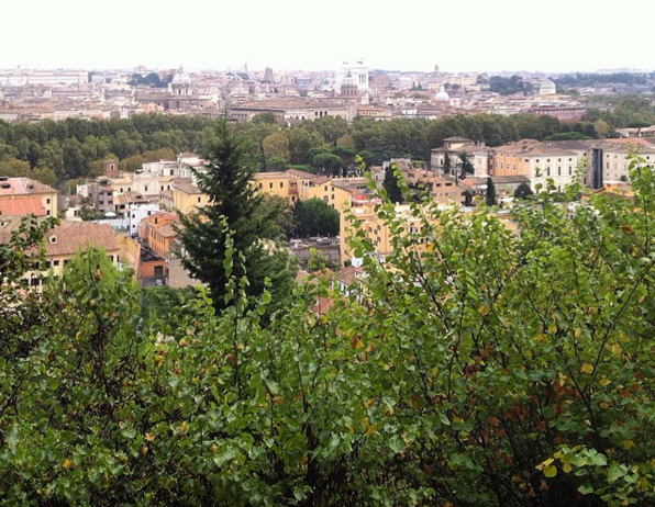 The view from Janiculum hill