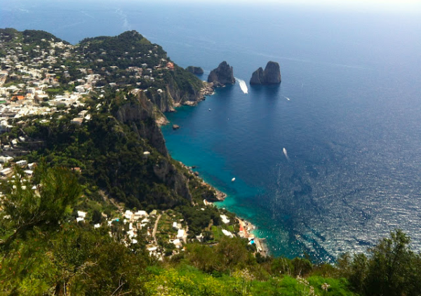 Weekend escape to Capri off season