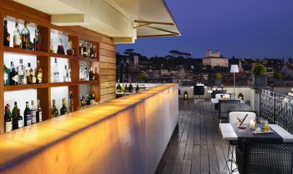 Cocktails at The First Luxury Art Hotel