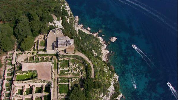 Villa Jovis on Capri