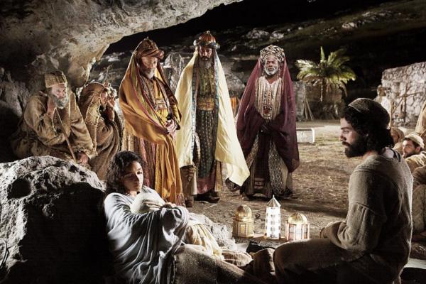 Befana and adoration of the magi
