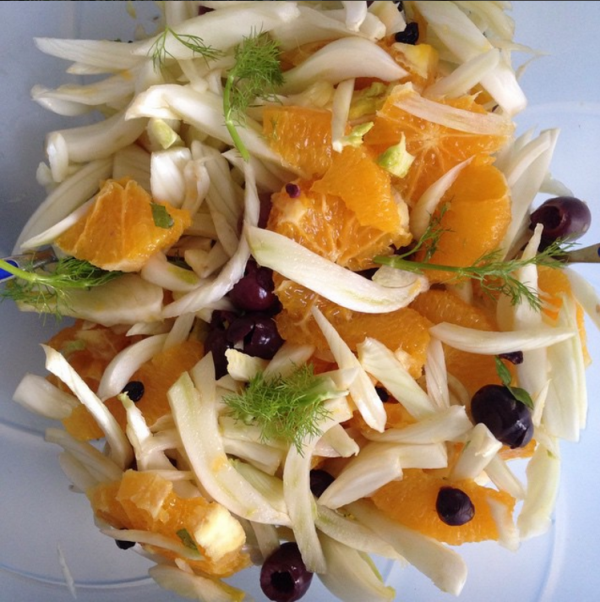 orange and fennel salad healthy eating