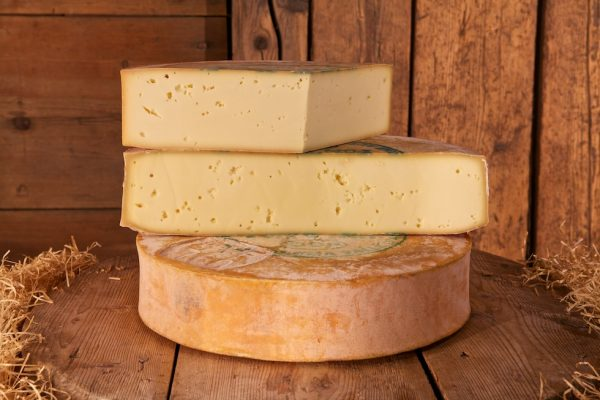 Fontina cheese from Val d'Aosta