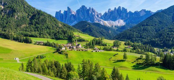 Ferragosto in the mountains · www.italyfoodandwinetours.com