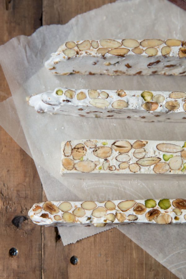 holiday foods torrone