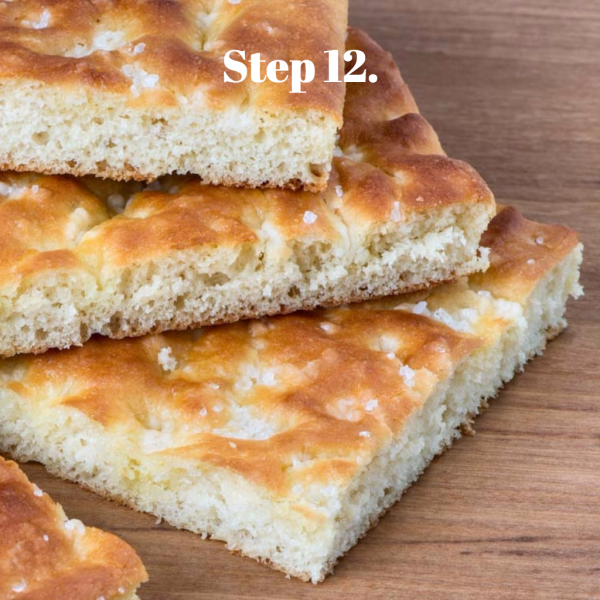 How to make homemade focaccia · italyfoodandwinetours.com