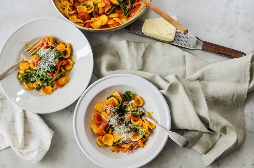 Orecchiette, a Southern Italian recipe