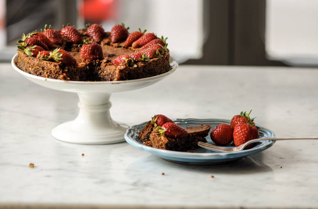 Torta Caprese, Capri signature almond and chocolate cake