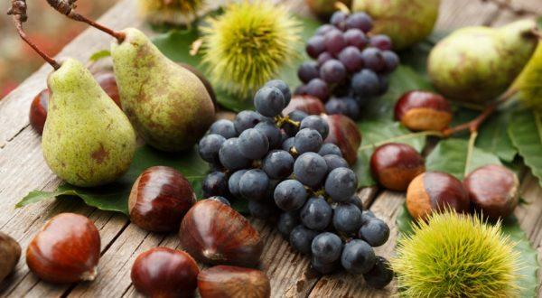 Eating seasonally: autumn fruits