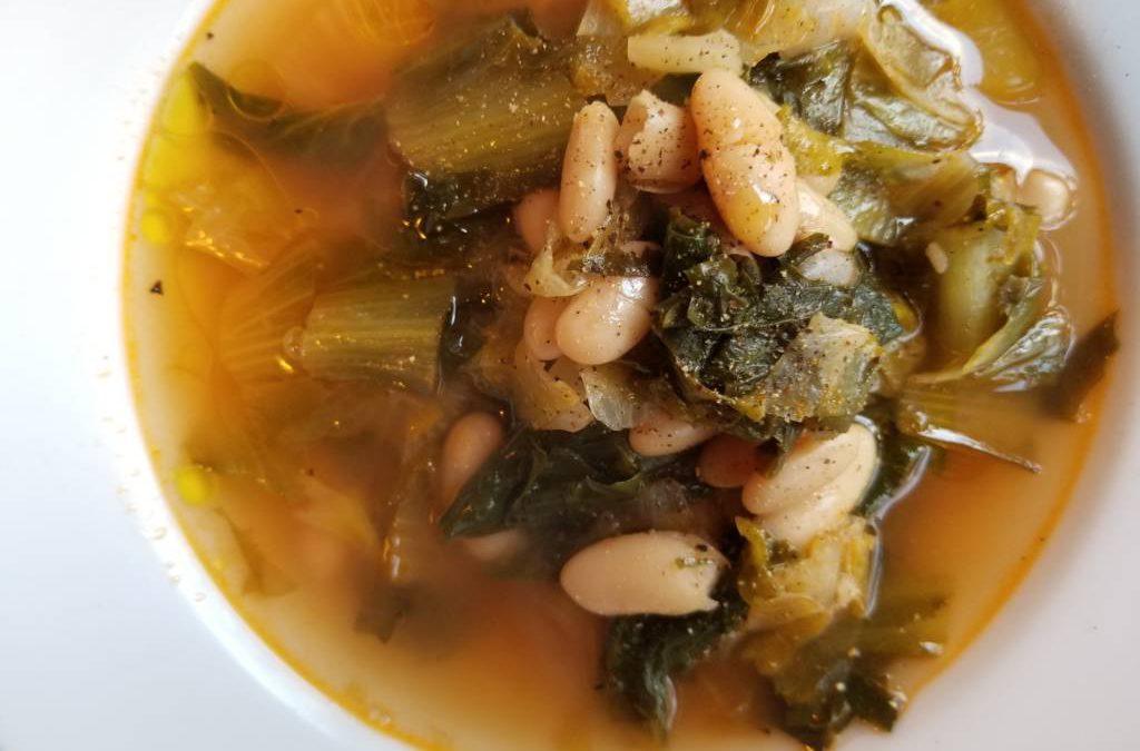 Recipe: Escarole soup