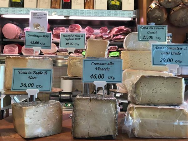 Italian cheese map