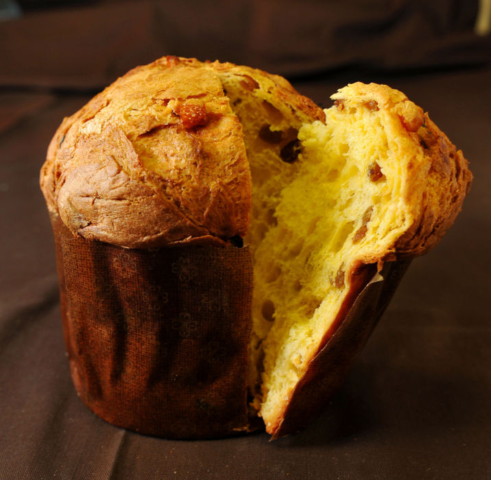 holiday foods panettone
