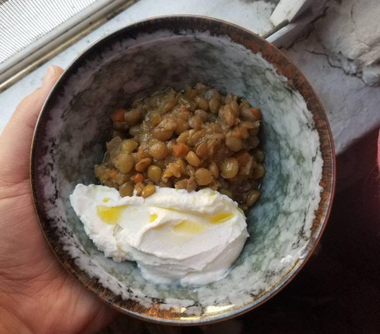 Recipe: Stewed Lentils