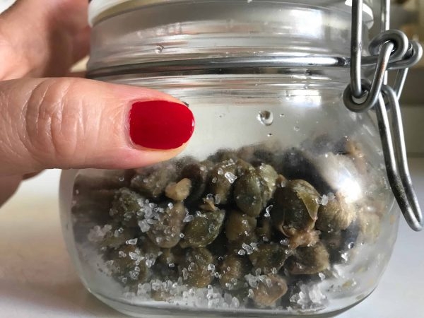 capers from Pantelleria