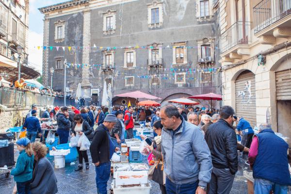 Catania A' Piscaria - food markets