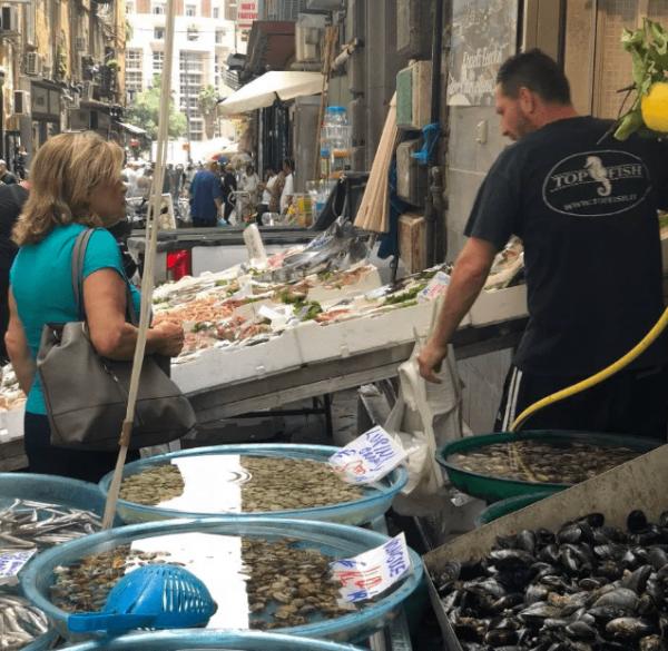 Naples Pignasecca - food markets