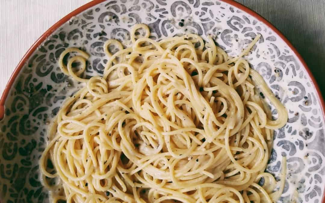The real cacio e pepe