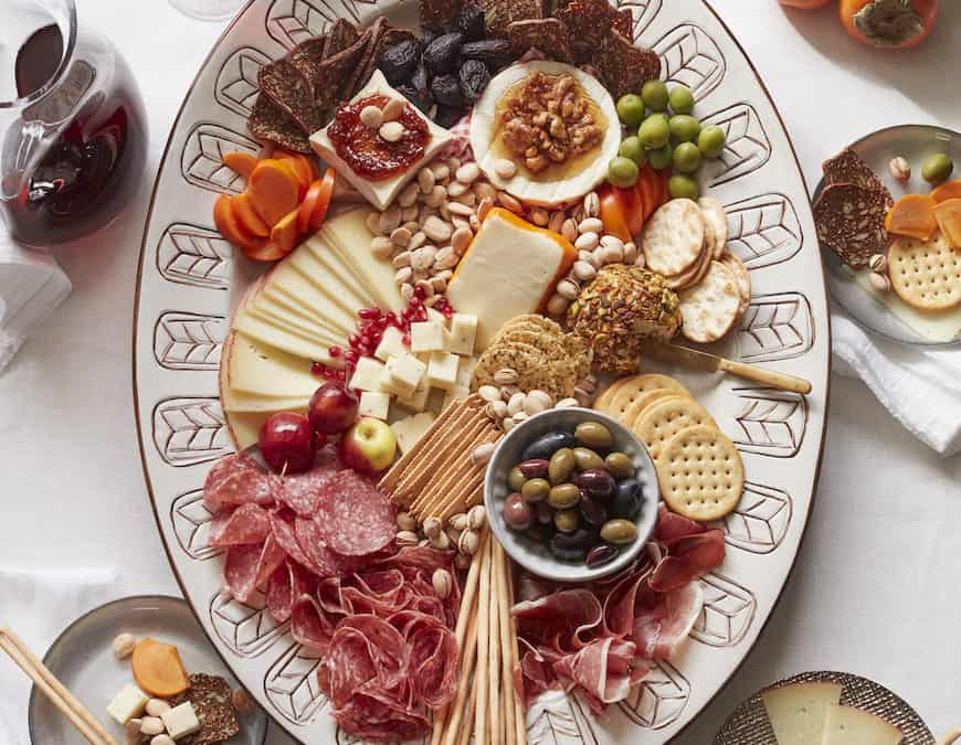 Assembling the perfect holiday cheese board