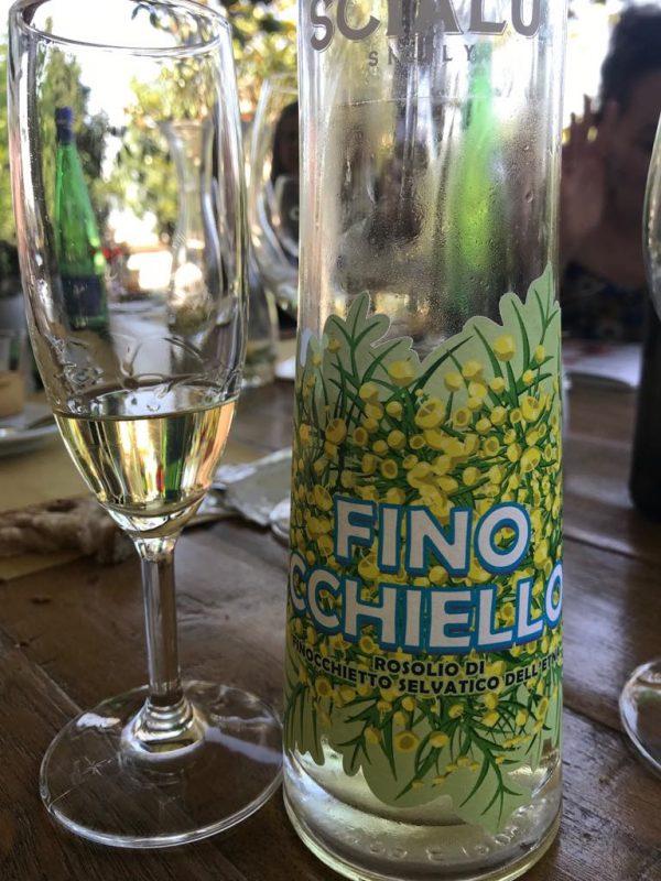 finocchiello liqueur from Sicily