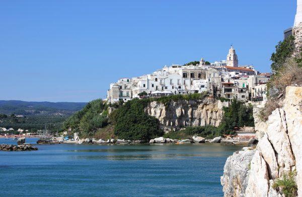 Vieste in the Gargano area of Puglia