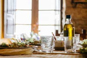Italy's molstly olive oil based