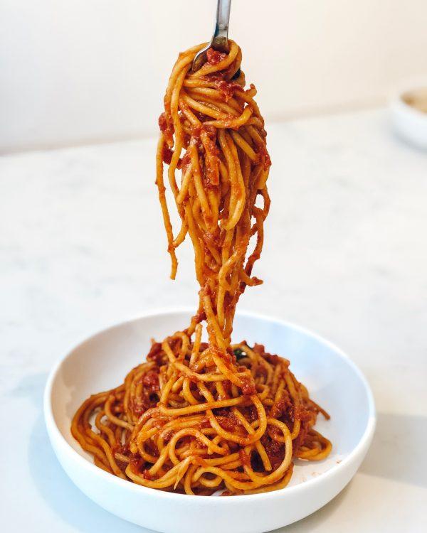 pasta is vegan