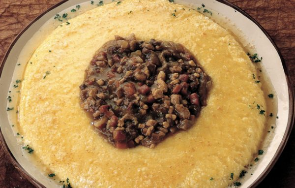 italian mushroom recipes: polenta and porcini